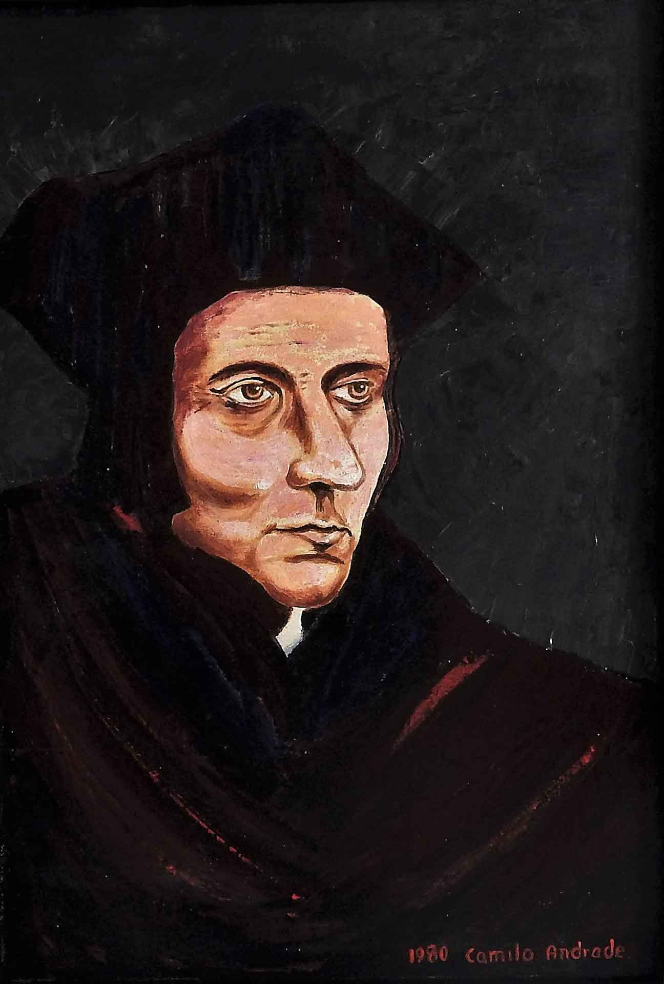 Retrato Copia. Thomas More.